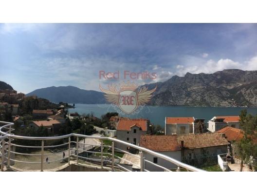 Two-level apartment in Risan. Montenegro, Karadağ'da satılık otel konsepti daire, Karadağ'da satılık otel konseptli apart daireler, karadağ yatırım fırsatları