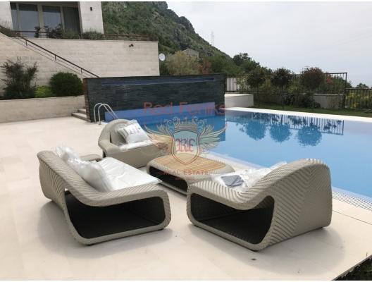 Blizikuce'de Mükemmel Panoramik Deniz Manzaralı Villa, Becici satılık müstakil ev, Becici satılık müstakil ev, Region Budva satılık villa