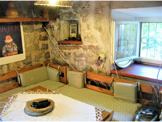 Stone house on the first line, Lustica, Montenegro real estate, property in Montenegro, Lustica Peninsula house sale