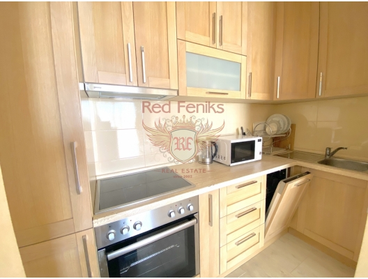 Perfect Studio Apartment in Becici, investment with a guaranteed rental income, serviced apartments for sale