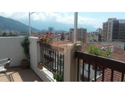 Two bedrooms apartment with total area of 83 sqm (terrace 15 sqm, living area 68 sqm).