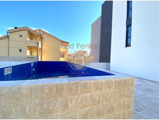 Tivat'ta Yeni Sitede Penthouse, Bigova da satılık evler, Bigova satılık daire, Bigova satılık daireler