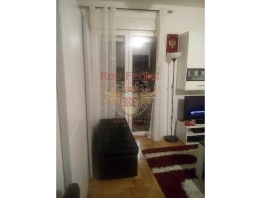 Studio in the new building. 28 m2, becici satılık daire, Karadağ da ev fiyatları, Karadağ da ev almak