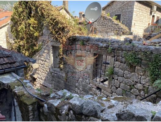 Kotor Eski Şehir'de Taş Ev, Karadağ satılık ev, Karadağ satılık müstakil ev, Karadağ Ev Fiyatları