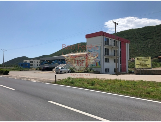 Commercial premises located on the highway Budva-Tivat, commercial property in Region Budva, property with rental potential in Montenegro