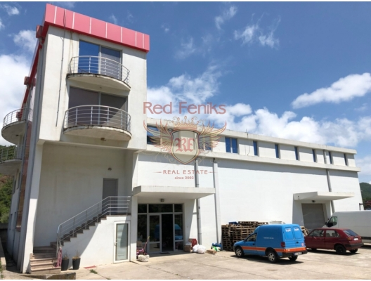 Commercial premises located on the highway Budva-Tivat, property with high rental potential Region Budva, buy hotel in Becici