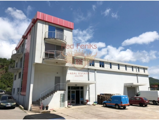 Commercial premises located on the highway Budva-Tivat, property in Montenegro, hotel for Sale in Montenegro