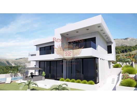 Blizikuce'de Güzel Modern Villa, Karadağ satılık ev, Karadağ satılık müstakil ev, Karadağ Ev Fiyatları