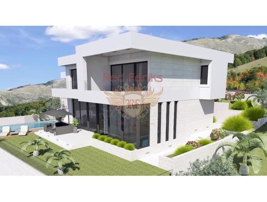 Blizikuce'de Güzel Modern Villa, Karadağ Villa Fiyatları Karadağ da satılık ev, Montenegro da satılık ev, Karadağ satılık villa