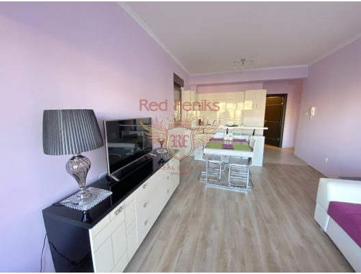 One Bedroom Apartment with Sea View in Budva, apartment for sale in Region Budva, sale apartment in Becici, buy home in Montenegro