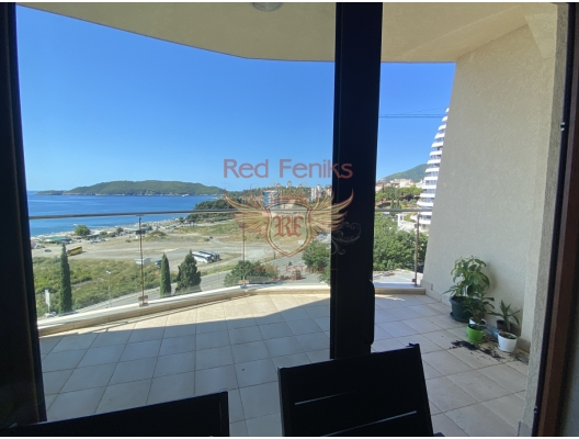 Studio Apartment In Becici with Panoramic Sea View, investment with a guaranteed rental income, serviced apartments for sale