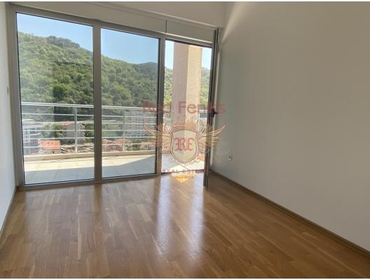 Rafailovici'de Panoramik İki Yatak Odalı Daire 2+1, Becici dan ev almak, Region Budva da satılık ev, Region Budva da satılık emlak