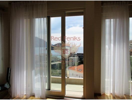 Budva Merkezde Panaromik Manzaralı Acil Satılık Daire, Becici da satılık evler, Becici satılık daire, Becici satılık daireler