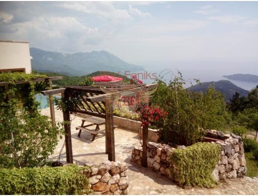 Beautiful House in Lapčići, Region Budva satılık müstakil ev, Region Budva satılık villa