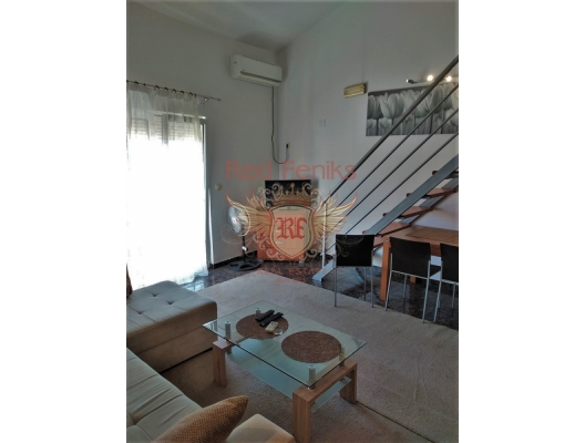 For sale one bedroom apartment in Budva, Montenegro.