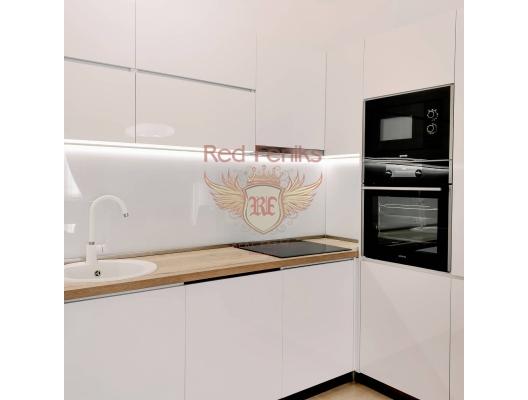 Podgorica'da satılık lüks iki yatak odalı daire! Daire alanı 65m2.