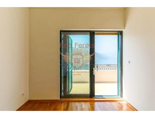 Boka-Bay sahilinde deniz manzaralı daire, Karadağ da satılık ev, Montenegro da satılık ev, Karadağ da satılık emlak