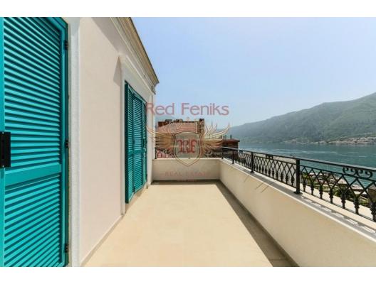 Boka-Bay sahilinde deniz manzaralı daire, Karadağ satılık evler, Karadağ da satılık daire, Karadağ da satılık daireler