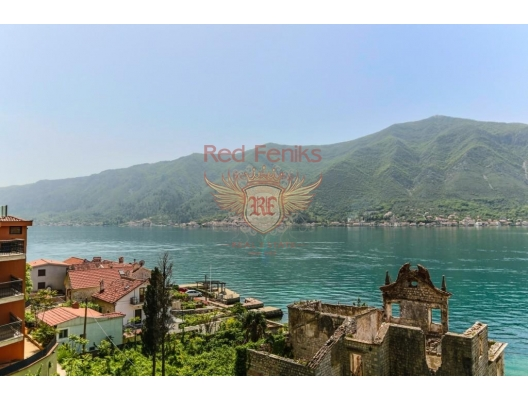 New apartment for sale in Dobrota, Kotor Bay, Montenegro.
