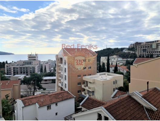 Del Mare SeaView Apartment in Becici, apartments for rent in Becici buy, apartments for sale in Montenegro, flats in Montenegro sale