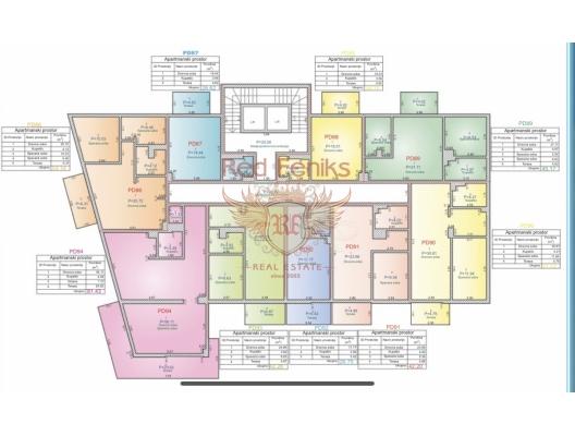 Budva'da Denize Sıfır Lüks Sitesinde 2+1 Hotel Apart Daireler., Karadağ'da garantili kira geliri olan yatırım, Becici da Satılık Konut, Becici da satılık yatırımlık ev