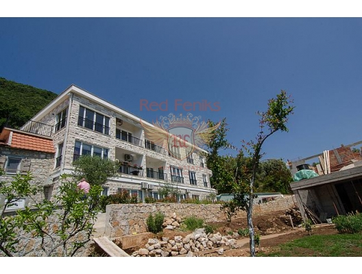 Kumbor'da Apartman Dairesi, becici satılık daire, Karadağ da ev fiyatları, Karadağ da ev almak