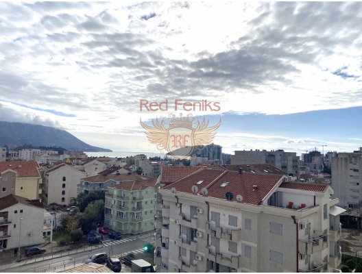 One Bedroom Apartment In Budva With Sea View, apartment for sale in Region Budva, sale apartment in Becici, buy home in Montenegro