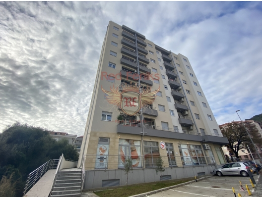 For sale one bedroom apartment in Budva with mountain view.