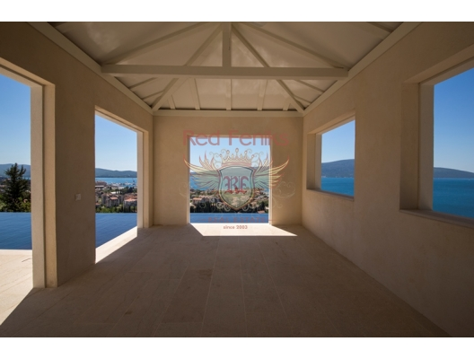 SOLD Fantastic villa with perfect view in Tivat, house near the sea Montenegro
