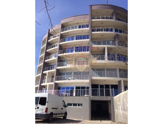 Rafailovici'de Panoramik İki Yatak Odalı Daire 2+1, Karadağ satılık evler, Karadağ da satılık daire, Karadağ da satılık daireler