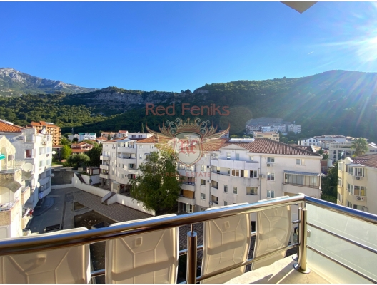 Three Bedrooms Apartment in Budva with a Sea View, Montenegro real estate, property in Montenegro, flats in Region Budva, apartments in Region Budva