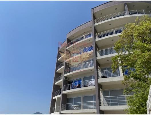 Rafailovici'de Panoramik İki Yatak Odalı Daire 2+1, Becici da satılık evler, Becici satılık daire, Becici satılık daireler