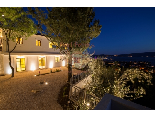 SOLD Fantastic villa with perfect view in Tivat, Montenegro real estate, property in Montenegro, Region Tivat house sale