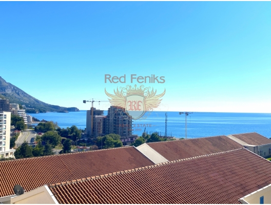 Panoramic Sea View One Apartment in Becici, Montenegro real estate, property in Montenegro, flats in Region Budva, apartments in Region Budva