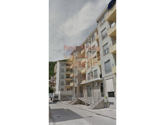 One bedroom apartment for sale in Budva in a new building.