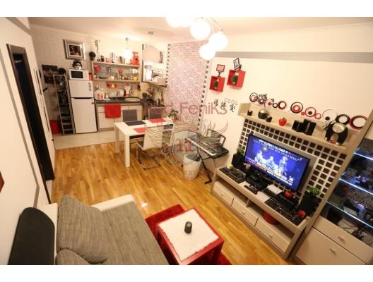 Jednosoban stan u Budvi, Lazi, Karadağ satılık evler, Karadağ da satılık daire, Karadağ da satılık daireler