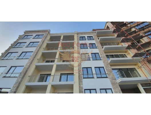 Closed Residential Complex in Becici, sea view apartment for sale in Montenegro, buy apartment in Becici, house in Region Budva buy