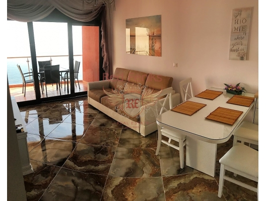 The one-bedroom apartment in bar, Dobra Voda, Montenegro.
