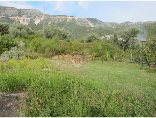 Becici'de panoramik arsa, Karadağ da satılık arsa, Karadağ da satılık imar arsası