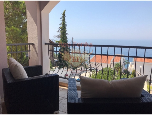 Magnificent villa in Dobra Voda, first line, Bar house buy, buy house in Montenegro, sea view house for sale in Montenegro