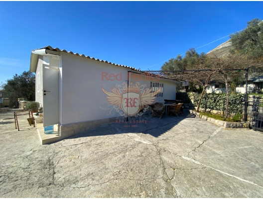 Two Small Houses in Rezevici with Beautiful Sea View, Becici house buy, buy house in Montenegro, sea view house for sale in Montenegro