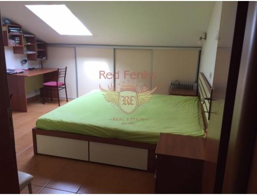 Becici'de panoramik manzaralı üç yatak odalı daire, Becici da satılık evler, Becici satılık daire, Becici satılık daireler