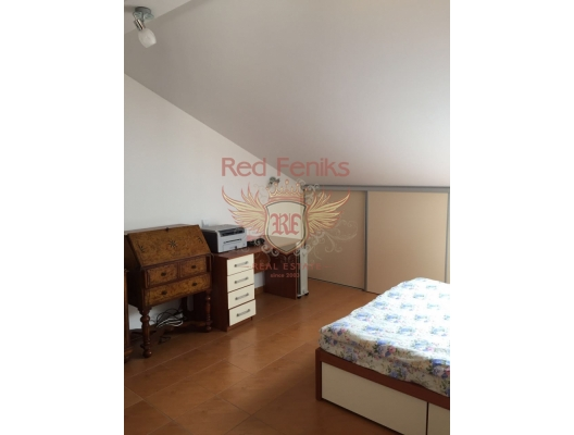 Becici'de panoramik manzaralı üç yatak odalı daire, Montenegro da satılık emlak, Becici da satılık ev, Becici da satılık emlak
