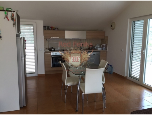 Becici'de panoramik manzaralı üç yatak odalı daire, Karadağ satılık evler, Karadağ da satılık daire, Karadağ da satılık daireler