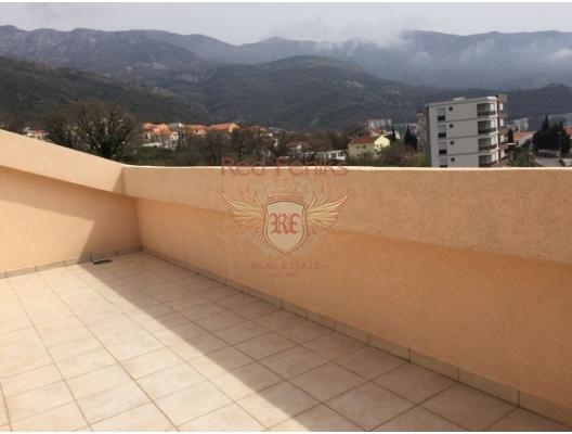 Becici'de panoramik manzaralı üç yatak odalı daire, becici satılık daire, Karadağ da ev fiyatları, Karadağ da ev almak