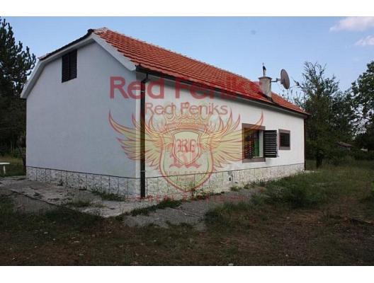 Danilovgrad yakınında büyük bir arsa ile mükemmel ev, Karadağ satılık ev, Karadağ satılık müstakil ev, Karadağ Ev Fiyatları