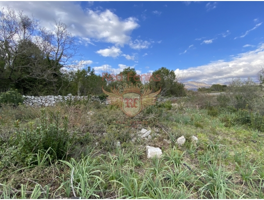 Sea View Plot in Krimovica, Budva, building land in Region Budva, land for sale in Becici Montenegro