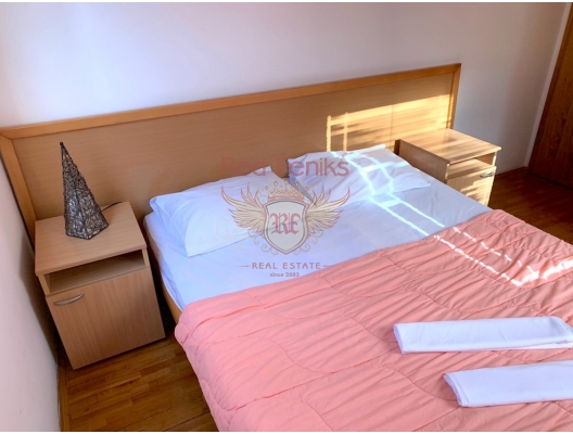 Rafailovici'de Tek Yatak Odalı Daire 1+1, Becici da ev fiyatları, Becici satılık ev fiyatları, Becici da ev almak