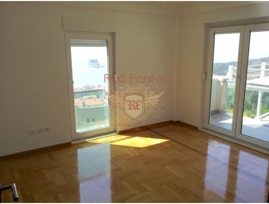 Petrovac'ta İki Yatak Odalı Daire 3+3, Montenegro da satılık emlak, Becici da satılık ev, Becici da satılık emlak