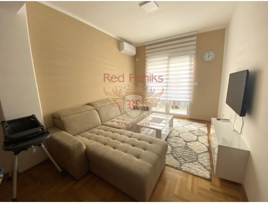 One Bedroom Apartment in Budva With Mountain View, sea view apartment for sale in Montenegro, buy apartment in Becici, house in Region Budva buy